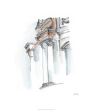 European Watercolor Sketches IV Limited Edition by Ethan Harper