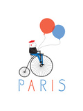 Paris Giclee Print by Nicole Thompson