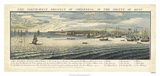 Buck's View - Sheerness in Kent Giclee Print by Nathaniel Buck