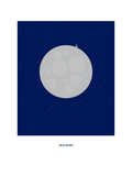 Man on the Moon: Rem Giclee Print by Christophe Gowans