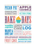 Bake Days Giclee Print by Moha London