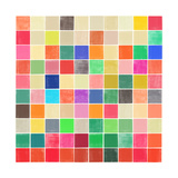 Garima Dhawan - Colourquilt II Digitálně vytištěná reprodukce