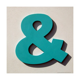 Ampersand Blue Giclee Print by Philip Sheffield