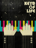 Keys of Life Giclee Print by Dale Edwin Murray