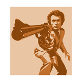 Dirty Harry Giclee Print by Emily Gray