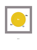 U2 Giclee Print by Christophe Gowans