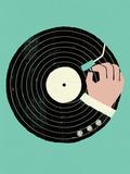 Vinyl Giclée-tryk af Dale Edwin Murray