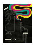 Smoking Gun Giclee Print by Dale Edwin Murray