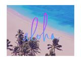Aloha Hawaii Giclee Print by Leah Flores