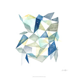 Geometric Jewel Abstract I Limited Edition by Grace Popp