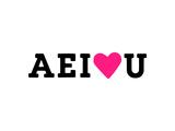 AE I Love U Giclee Print by Coni Della Vedova
