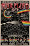 Pink Floyd 1972 Carnegie Hall Plakaty