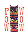 Pow Wow Giclee Print by Chris Wharton