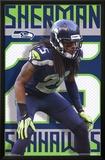 Seattle Seahawks - R Sherman 14 Poster