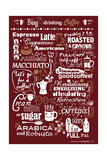 Busy Drinking Coffee Giclee Print by Busy Being