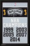 San Antonio Spurs - Champions 14 Posters