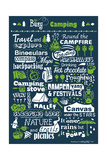 Busy Being a Camper Giclee Print by Busy Being