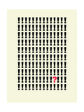 Xclamation Question Giclee Print by Philip Sheffield