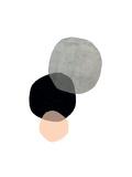 Circles Giclée-tryk af Seventy Tree