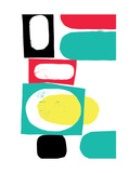 Abstract 18 Giclee Print by Catherine Aguilar