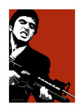 Scarface Giclee Print by Emily Gray