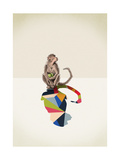 Monkey Giclee Print by Jason Ratliff
