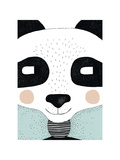 Big Panda Giclee Print by Seventy Tree