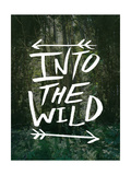 Into the Wild Giclee Print by Leah Flores