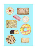 Biscuits Giclee Print by Alexandra Rolfe