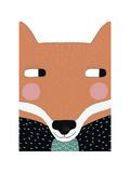 Big Fox Giclee Print by Seventy Tree