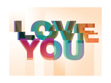 Love You Giclee Print by Philip Sheffield