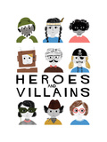 Heroes and Villains Giclee Print by Francesca Iannaccone