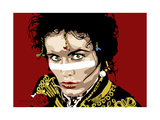 Adam Ant Giclee Print by Emily Gray