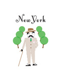New York Giclee Print by Nicole Thompson