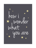 How I Wonder What You Are Giclee Print by Aiza Cheung