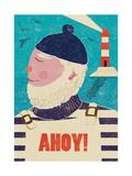 Ahoy! Impression giclée par  Rocket 68