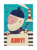 Ahoy! Giclee Print by  Rocket 68