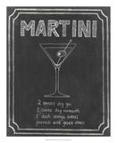 Chalkboard Cocktails III Posters by Grace Popp
