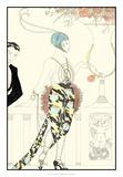 Arte Deco Fashion II Giclee Print