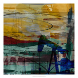 Oil Rig Abstract Giclee Print by Sisa Jasper