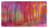Stopping by Woods to Celebrate Giclee Print by Janet Bothne