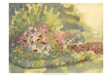 Watercolor Garden V Posters by Dianne Miller