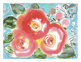 Bed of Roses II Giclee Print by Julia Minasian