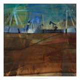 Oil Rig Abstraction II Giclee Print by Sisa Jasper