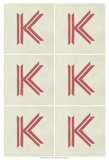 Lucien's K 6-Up Prints by Chariklia Zarris