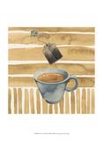 Cafe au Lait III Kunstdrucke von Grace Popp
