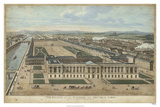 Bird's Eye View of Louvre Giclee Print by  Williamsburg