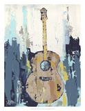 Bluebird Cafe I Print by Deann Hebert