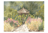 Watercolor Garden IV Art by Dianne Miller