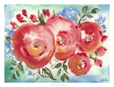 Bed of Roses I Giclee Print by Julia Minasian